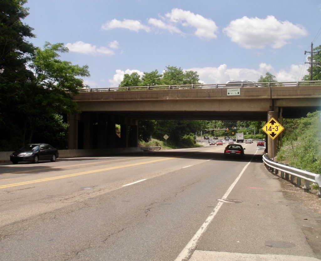 Maple Avenue Bridge before reconstruction
