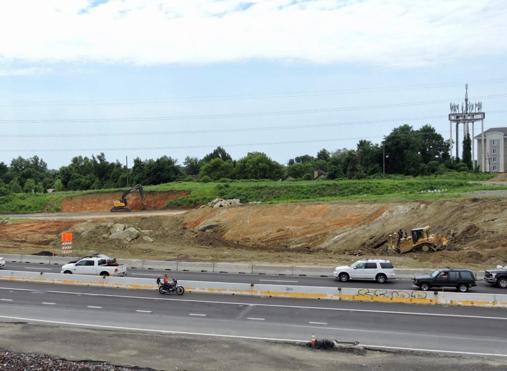 Excavation for Street Road Interchange improvements