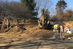 January 2019 - Installing drainage for Red Roof Inn driveway