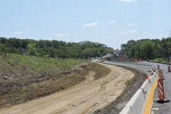 May 2021 - Excavation for widening southbound U.S. 1 between the ramp from Business U.S.1.